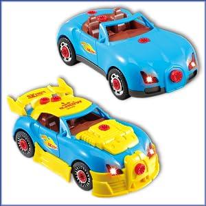 TG642 - Take Apart Toy Racing Car