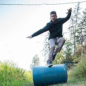 KAVU Hartman Pant Men's Hiking Pants Lightweight Pants, Quick Dry, Elastic Waistband