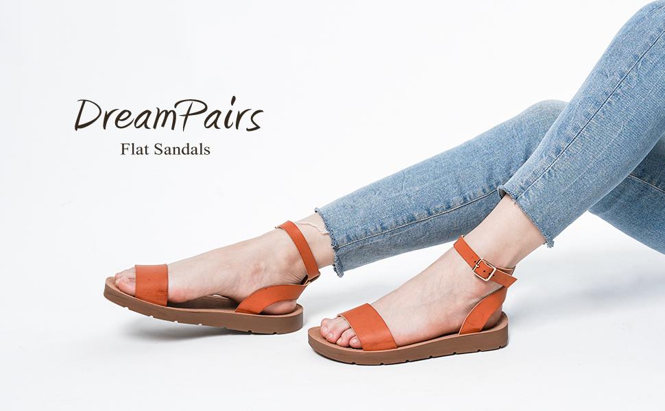 elena-5 one band flat sandals
