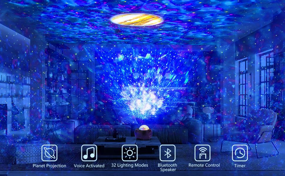 2021 Planet Projector Night Light