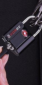 Key luggage locks, tsa approved luggage lock, travel lock.