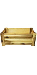 """Villa Acacia Wooden Planter Box - 17"""""""