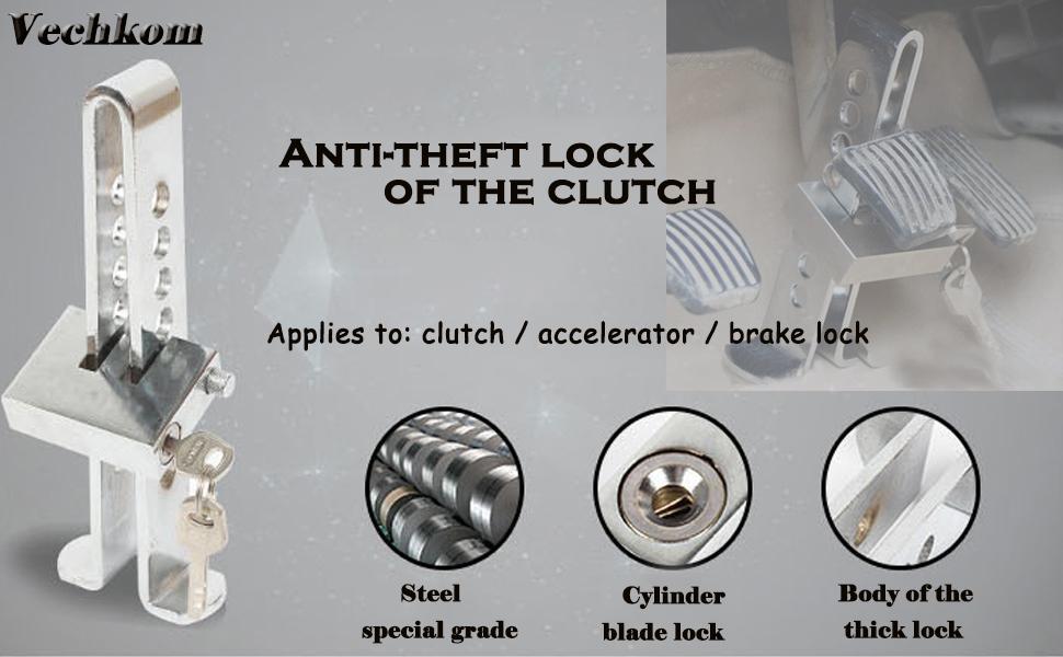 Theft-Pulley Brake Pocket Spring-locks Alarm Lock