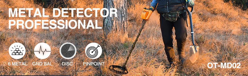 Metal detector professional