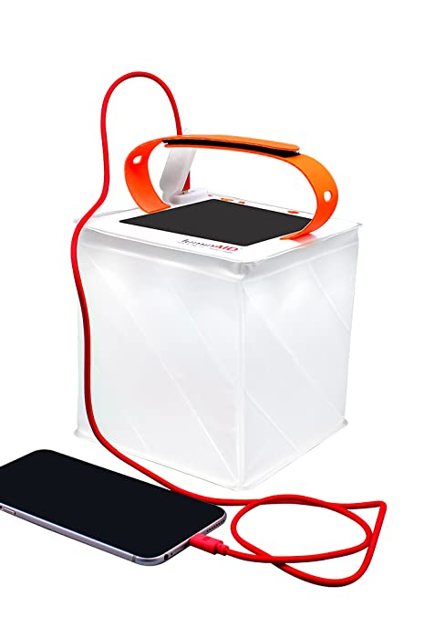 PackLite Titan 2-in-1 Phone Charger solar inflatable lantern and phone charger