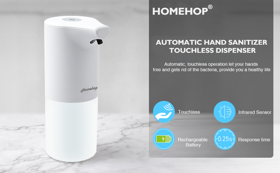 automatic sensor touchless  dispenser machine for bathroom sanitizer disinfectant handwash dispenser