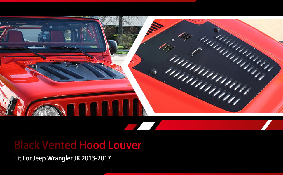 Vented Hood Louver