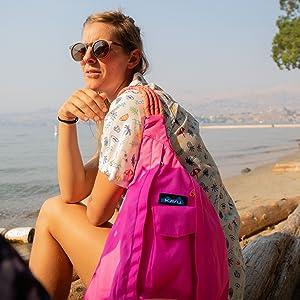 KAVU Sling Bag Polyester Rope Bag
