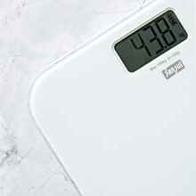 Battery free personal scale