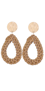 UEUC Rattan Earrings