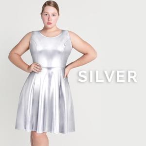 pearlescent metallic glitter silver alien princess outer space super hero genie costume