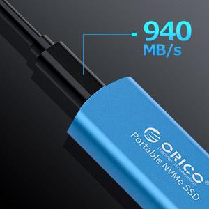 Mini M.2 NVME Portable SSD