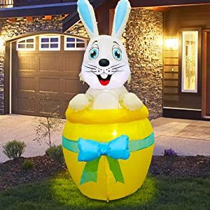 6 FT Inflatable Easter Decoration