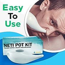 neti pot kit easy to use