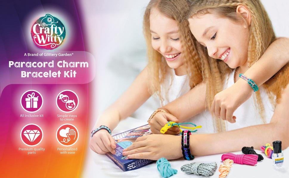 paracord charm bracelet kit