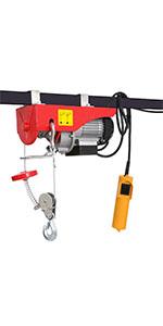 440 lbs Lift Electric Hoist