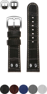 Pilot Croc Strap with Rivets