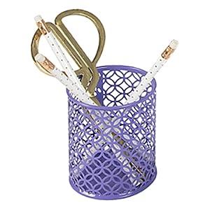 Purple Pen Cup