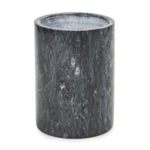 homiu black marble natural wine cooler chilled room temperature