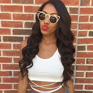 Brazilian Body Wave Virgin Human Hair Bundles With 4x4 Lace Closure Wavy Hair weft extensions