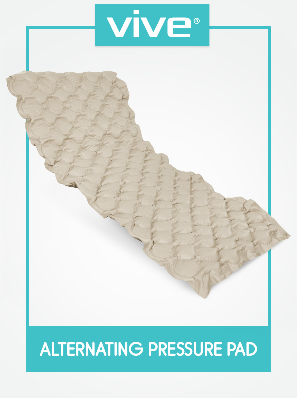 Pressure Pad Replacement - Inflatable Low Air Loss Mattress Topper for Pressure Ulcer and Sore