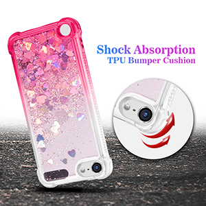 ipod touch 5th case glitter