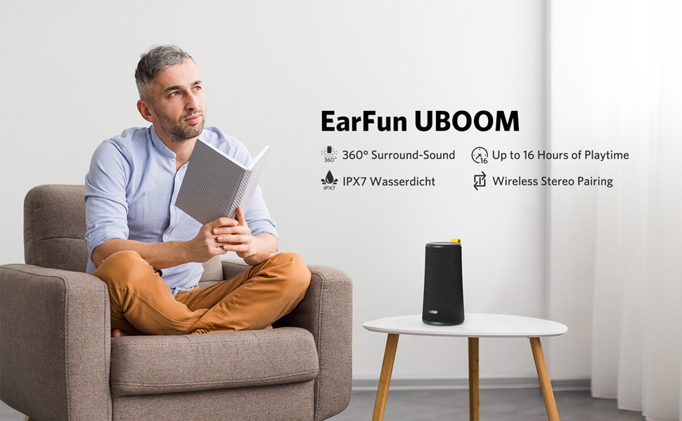 Análisis altavoz EarFun UBOOM