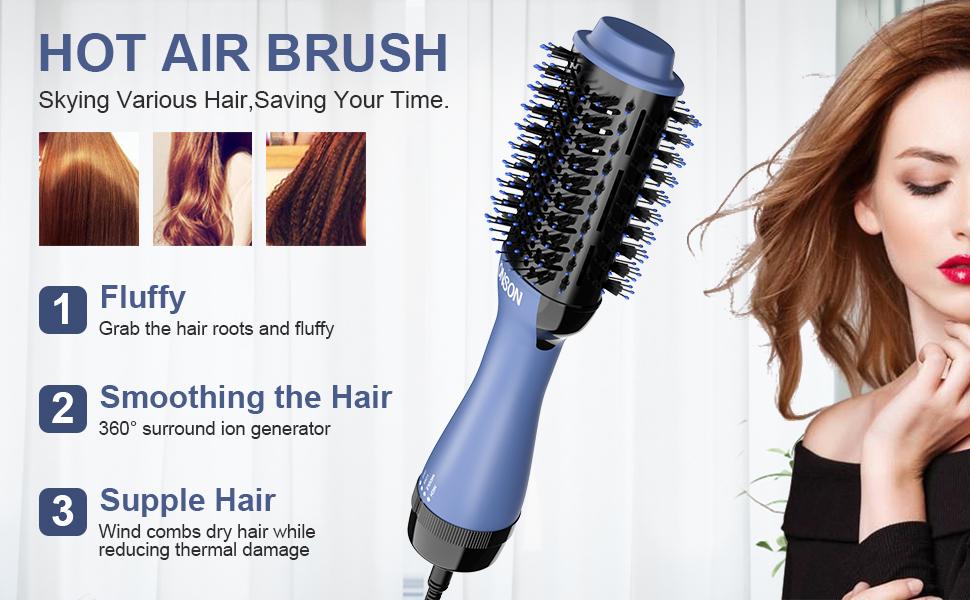 8 hair dryer and volumizer
