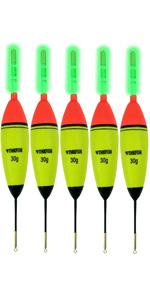 LED Luminous Sea Fishing Float light Bobbers Fishing Set Float Tackle D0H6