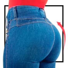 LT.ROSE Butt Lifting Colombian Pants Up Jeans Pantalones Colombianos Levanta Cola