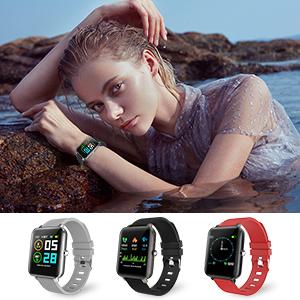 IP68 Waterproof Smartwatch