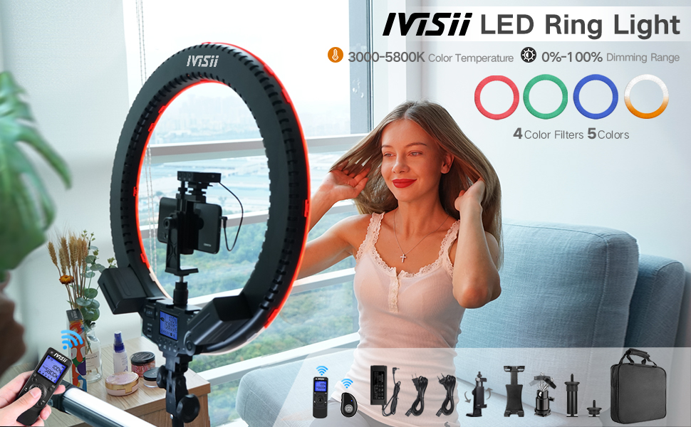ring light for ipad