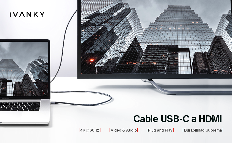Cable USB C a HDMI