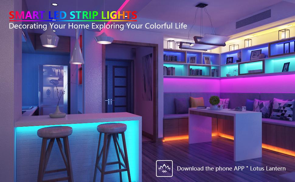 Smart led strip lights