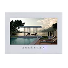 wall-mounted touch mirror tv