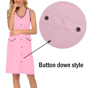 button down sleepshirts