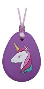 Munchables Unicorn Chew Necklace