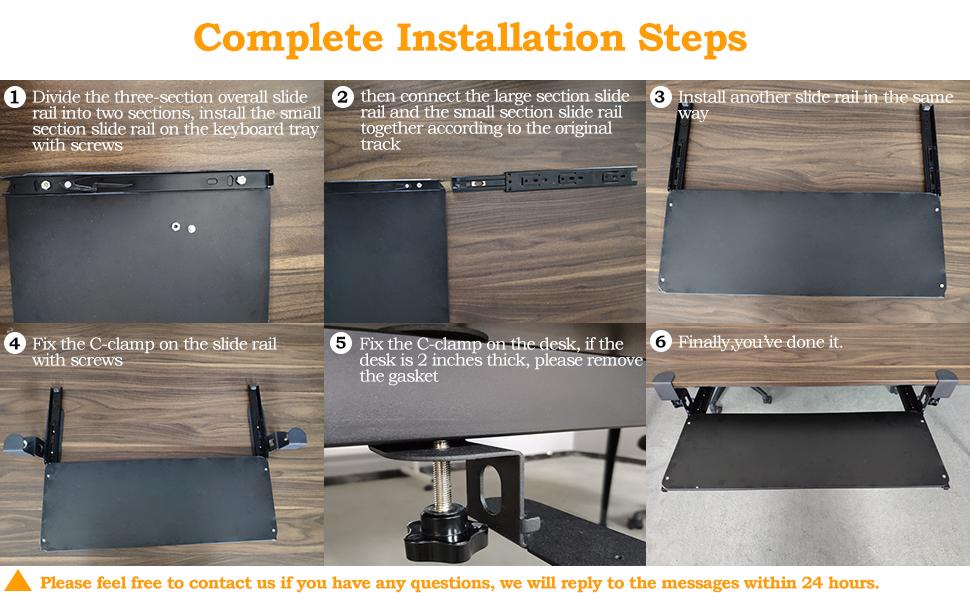 Complete installation steps