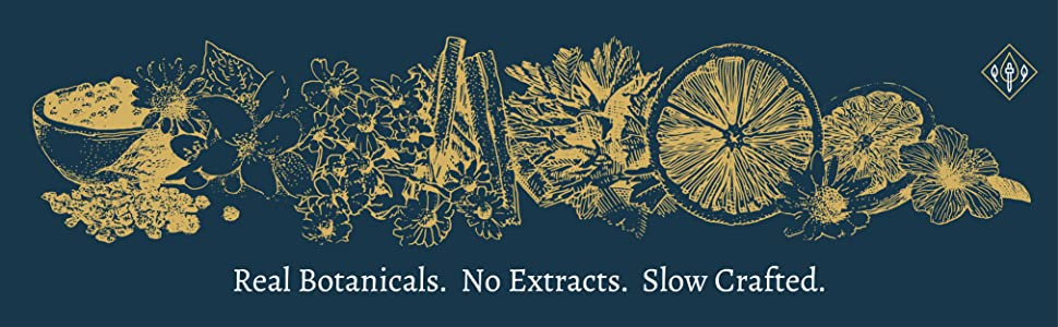 real botanicals no extracts slow crafted bitters