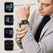 smartwatch orologio fitness tracker uomo donna contapassi cardiofrequenzimetro da polso smart watch