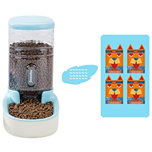 Large pets waterer and food feeder with 3.8L capacity