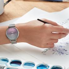 diseño, detalles, relojes, radiant