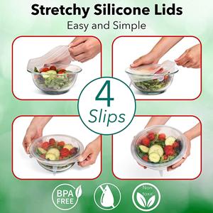 Reusable Silicon Seal Cover