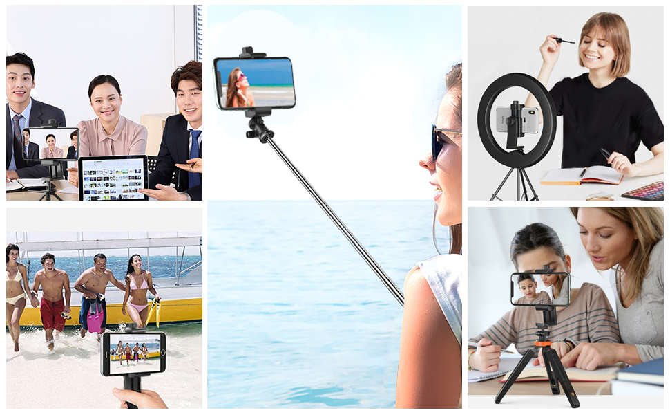 Cell Phone Tripod Adapter Mount