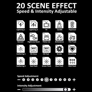 20 Scene Effects Mode