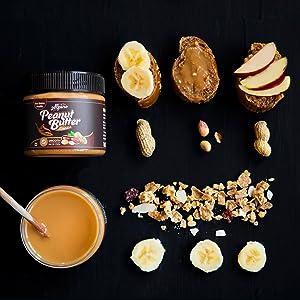 alpino, health foods, peanut butter, classic, healthy, snack, banana, oats, vegan, energy, kids