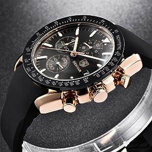 orologio uomo acciaio