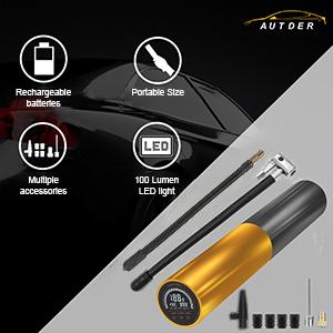 AUTDER Portable Air Compressor