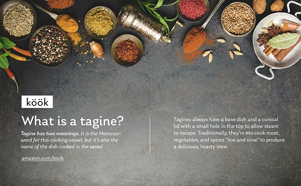 Tagine, cooking surface, cook, serveware