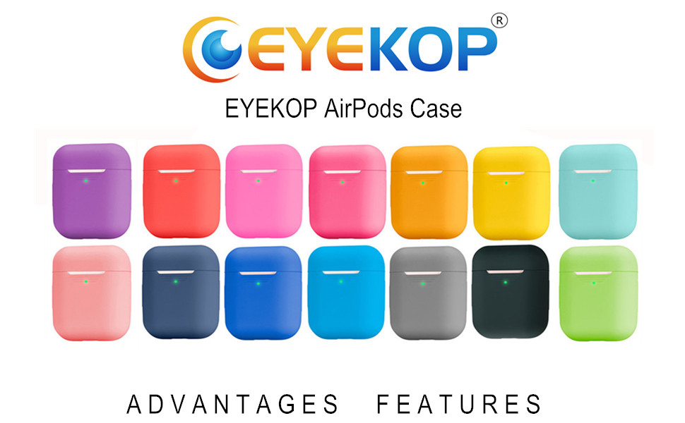 eyekop airpods case cover skin protector for air pod